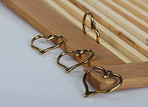 100 Pcs Antique Gold Hearts 23mm X 23mm, Heart Pendant, Jewelry Making Charms Pendant Jewelry Findings - Heart Charm Jewelry Finding