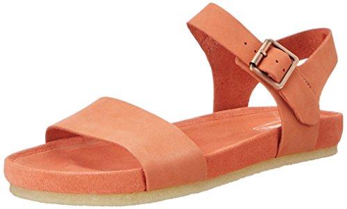 Clarks 261227354, Sandalias Mujer Naranja (Light Coral)
