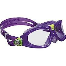 Aqua Sphere Seal 2 Regular Swimming Goggles - Violet/Clear Lens