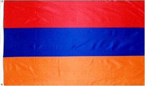 Armenia Flag 3ft x 5ft Polyester
