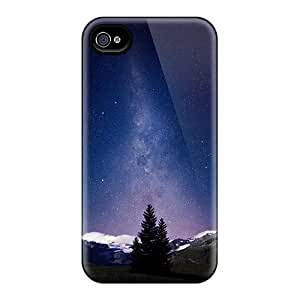 LuckyBecky Design High Quality Alpine Night Sky Cover Case With Excellent Style For Iphone 4/4s