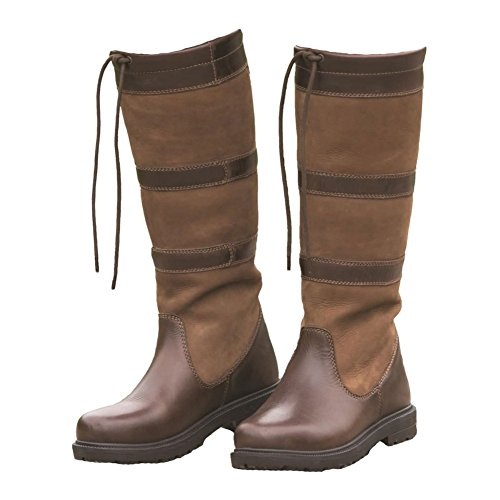 Shires Moretta Teo Boots Brown Long 7Ax7Tqdr