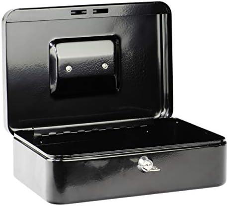 2 Schlüssel Hartgeldeinsatz schwarz BURG-WÄCHTER Geldkassette Money 5025 inkl