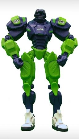 Cleatus Fox (NFL Seattle Seahawks Fox Sports Team Robot, 10-inches)
