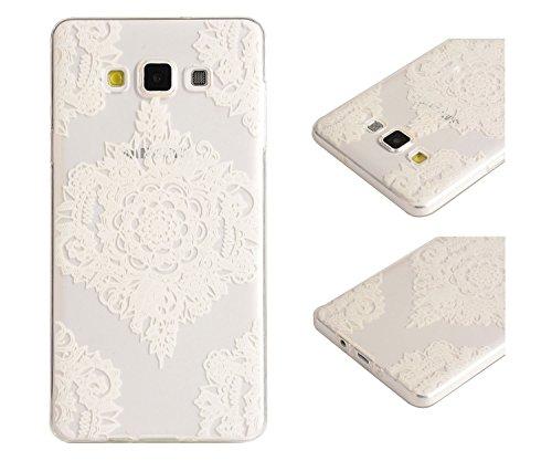 Para Samsung Galaxy A5 (2015) / A5 (2015) Duos (5 pulgadas) Cáscara ZeWoo® Carcasa y Funda de Silicona - YG008 / bosques YG006