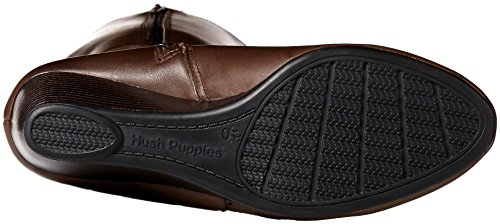Hush Puppies Womens Pynical Rhea Boot Donkerbruin Leer