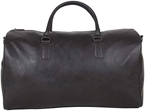 """Kenneth Cole Reaction Port Stanley Faux Leather 20"""" Top Zip Carry-On Travel Duffel Bag"""