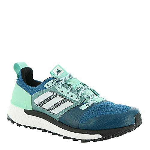 adidas outdoor Women's Supernova Trail Real Teal/White/Clear Mint 9 B US