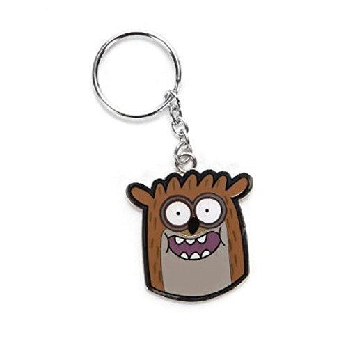 Regular Show Rigby Metal Keychain