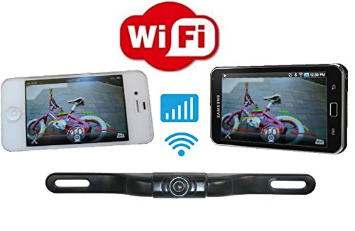 4UCAM WiFi Backup Camera for iPhone/iPad and Android (Iphone Backup)
