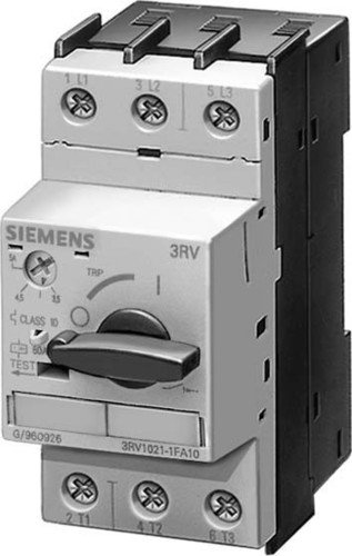 (Siemens 3RV1021-1KA10 Manual Starter and Enclosure, Open Type, 9-12.5 FLA Adjustment Range)