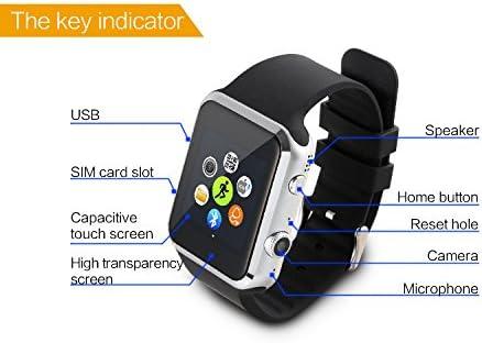Dax-Hub Bluetooth Smart Watch A9S Inteligente Con Pantalla Cámara ...