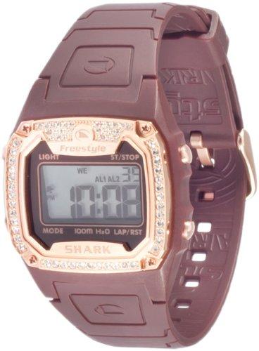 - Freestyle Women's 101080 Shark Classic Rectangle Shark Digital Watch