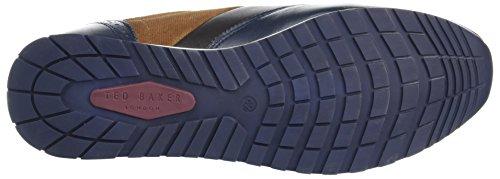 Ted Baker Herren Shindlm Sneaker Blau (blu Scuro / Marrone)