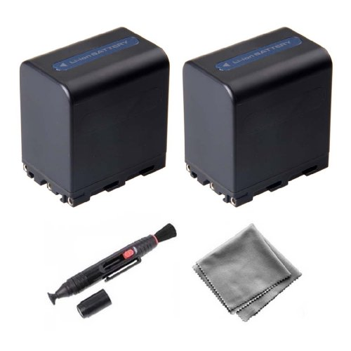 Ultra Pro 2-Pack NP-FM91 High-Capacity Replacement Batter...