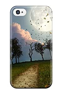 Hard Plastic Iphone 4/4s Case Back Cover,hot Landscape Case At Perfect Diy
