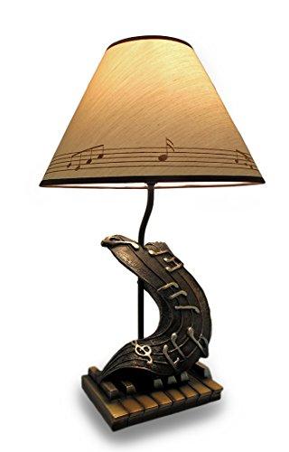 Arpeggio Illumined Classical Music Piano Keys 20 Inch Table (Music Lamp)