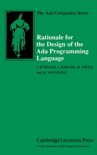 Rationale for the Design of the Ada Programming Language (The Ada Companion Series) by Cambridge University Press