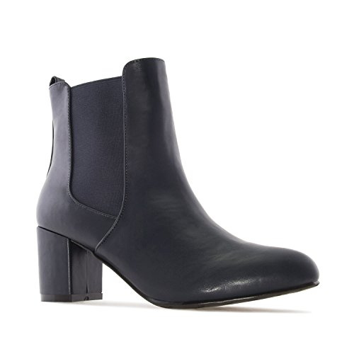 Leather Sizes 32 10 Range In 5 35 UK 0 To Boots Large EU 2 AM4087 5 UK To 8 5 and EU To Machado Leather Chelsea Size Petite Andres faux Navy To 42 Faux 45 xRqvwY