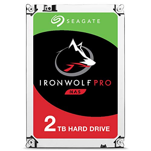 Pro 7200RPM SATA 6Gb/s 128MB Cache 3.5-Inch NAS Hard Disk Drive - Frustration Free Packaging (ST2000NE0025) ()