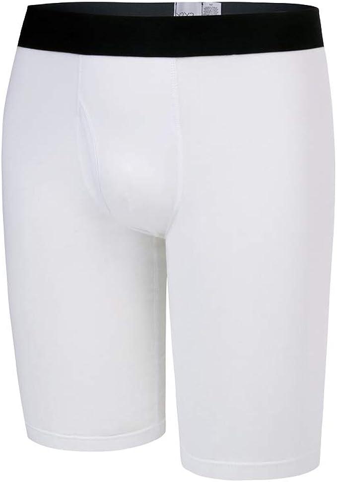 Y2Y2 - Calzoncillos de algodón elástico para hombre - Blanco - X ...