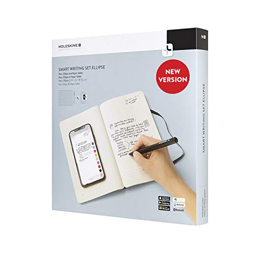 Moleskine Pen+ Ellipse Smart Writing Set Pen & Ruled Smart