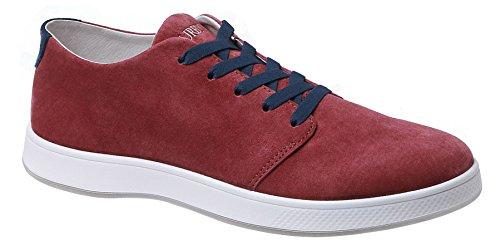 Insignia Men's Top Leather Shoe Low Nubuck Aureus Wine Red CxAqXwA