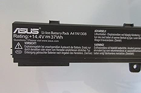 Amazon.com: Li-ion Battery 4 Cells 37Wh for ASUS X551M ...