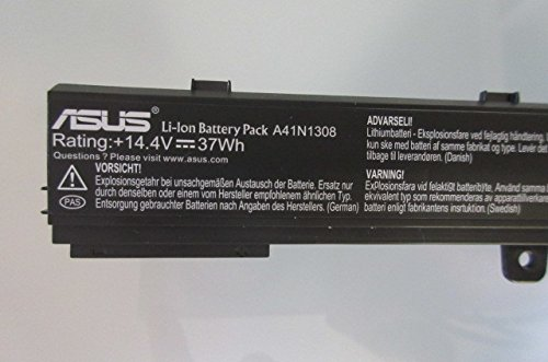 Amazon.com: Li-ion Battery 4 Cells 37Wh for ASUS X551C ...