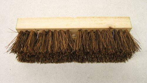 Palmyra Fiber Deck Brush - WRIGHT BERNET PALMYRA FIBRE 10