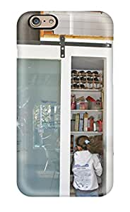 New SWwcedA18969wQagh Sliding Glass Pantry Door Serves As Family Message Center Tpu Cover Case For Iphone 6
