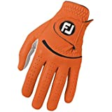 FootJoy Spectrum Men's Golf Glove Left (Fits on Left Hand) - Orange S