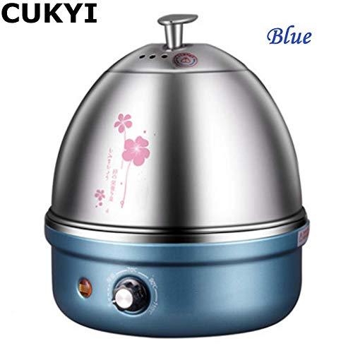 7 Eggs Diverse Colors Multifunctional Electric Boiler Stainless Steel Steamer Cooking