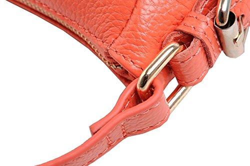 Soft Women Handbag Khaki Cross Purse satchel Retro Kuer Bag Hereby Body Shoulder TM Leather FwqtnEH