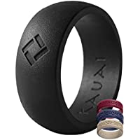 KAUAI - Silicone Wedding Rings -Leading Brand, from The Latest Artist Design Innovations to Leading-Edge Comfort: Pro-Athletic Ring Elegance Collection Men