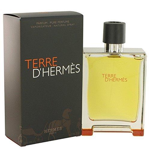 Hermes Terre D' Parfum Spray for Men, 6.7 Fl Oz by Hermes