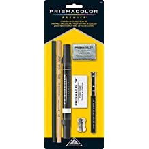 PRISMACOLOR Pencil Accessory Set, Colored Pencil Accessory Set, 7 Piece Set, Assorted Products (3750)