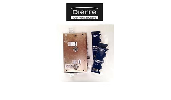 Cerraduras Atra dierre para puertas blindadas de sobreponer con doble cerradura de seguridad, entrada 70 mm ser7161 derecha: Amazon.es: Bricolaje y ...