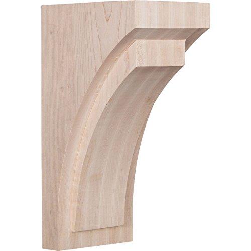 Ekena Millwork CORW05X06X12FECH Wood Corbel, 5