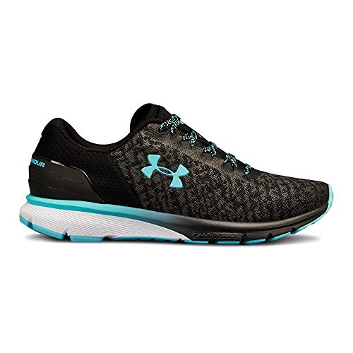 Under Armour Women's Charged Escape 2 Running Shoe, Black (001)/Graphite, 8