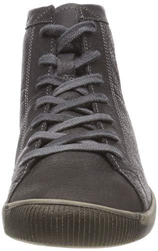A Sneaker Collo Grau Softinos 061 anthracite Washed Alto Isleen Donna StxWZw4H
