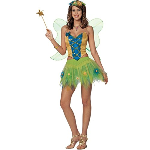 Woodland FAIRY butterfly sexy womens costume L