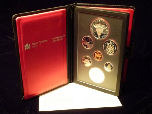 1982 Royal Canadian Mint Proof Coin Set