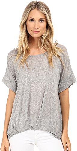 Culture Phit Women's Macy Grey Blouse - Macys Md