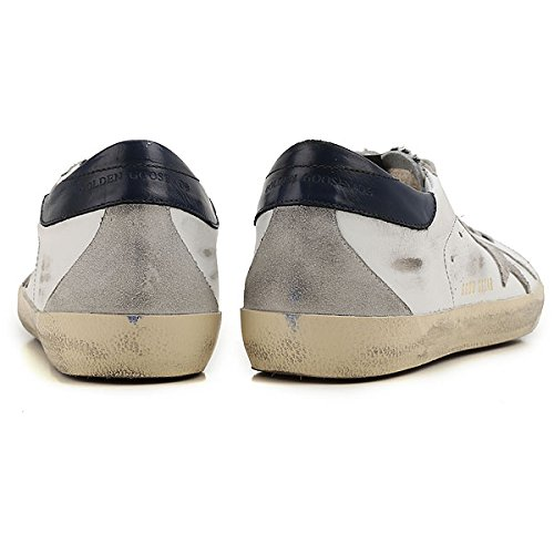 Gouden Gans Heren Superster Marine Tabblad Zebra Vintage Lage Top Lederen Mode Sneakers G30ms590 B48 (eu40)