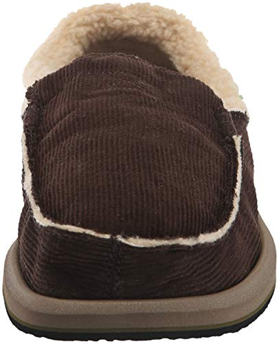 Chill on Men's Sanuk Foncé Slip Marron Chiba Loafer w4H1Ez