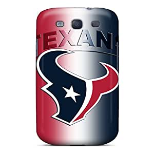 Pretty PYuhelT8609yiDbd Galaxy S3 Case Cover/ Texans Series High Quality Case