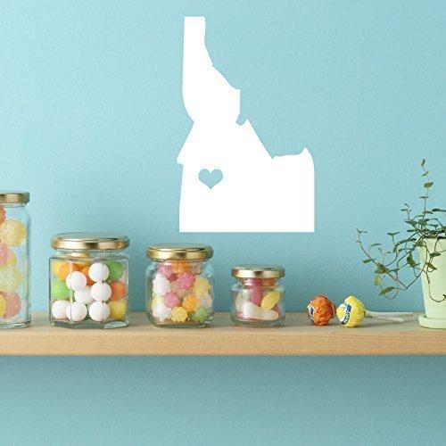 (Idaho Sticker - Vinyl Wall Art, 43rd State, Boise Idaho, Northwestern United States, Gem State)