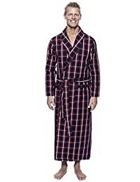 Noble Mount Twin Boat Men's 100% Woven Cotton Robe