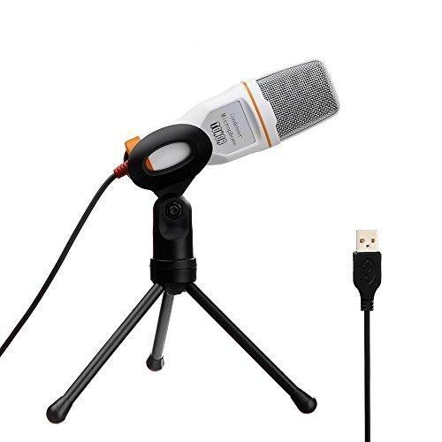 24 opinioni per Tonor Microfono USB Audio Con Supporto da Tavolo Per Skype PC Mac Laptop